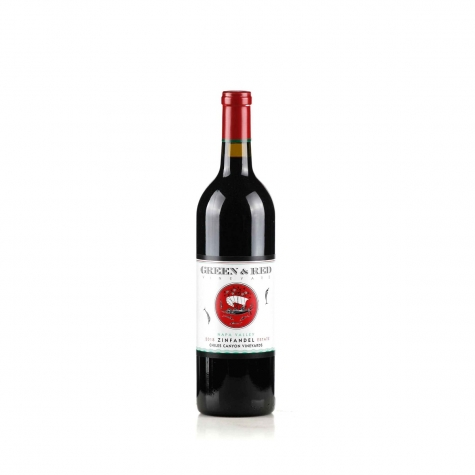 """Green & Red Zinfandel """"Chiles Canyon Vineyards"""" Napa Valley 2018"""