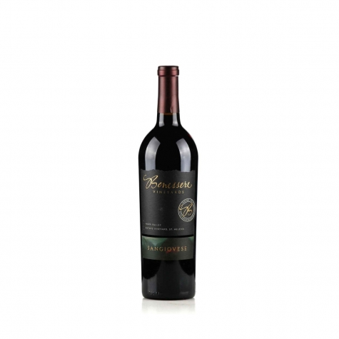 Benessere Winery Sangiovese Napa Valley 2018